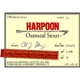 Logo of Harpoon 100 Barrel Series Oatmeal Stout