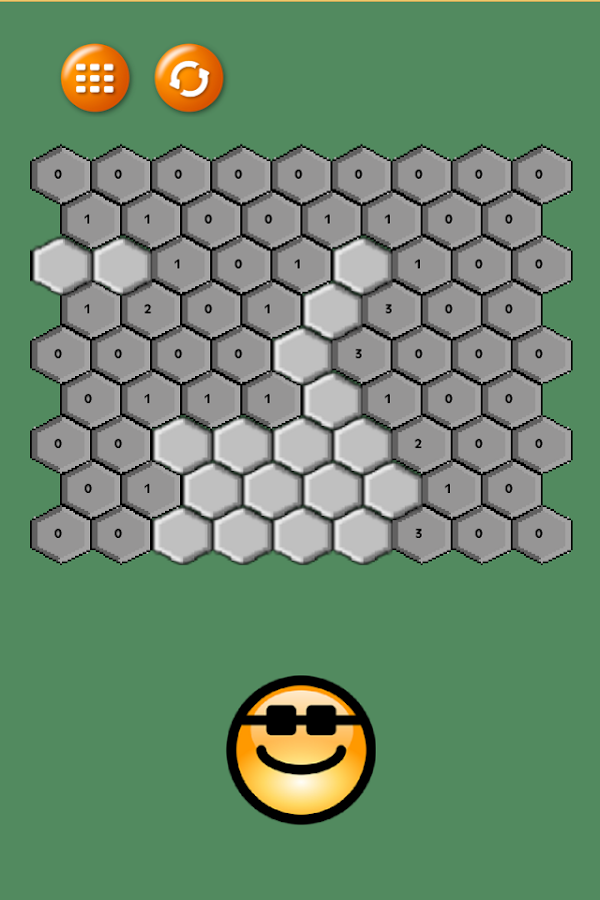 Hexsweeper- screenshot