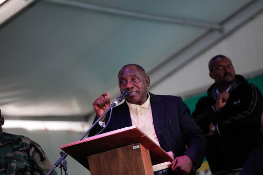 Deputy President Cyril Ramaphosa is currently the ANC presidential race frontrunner.