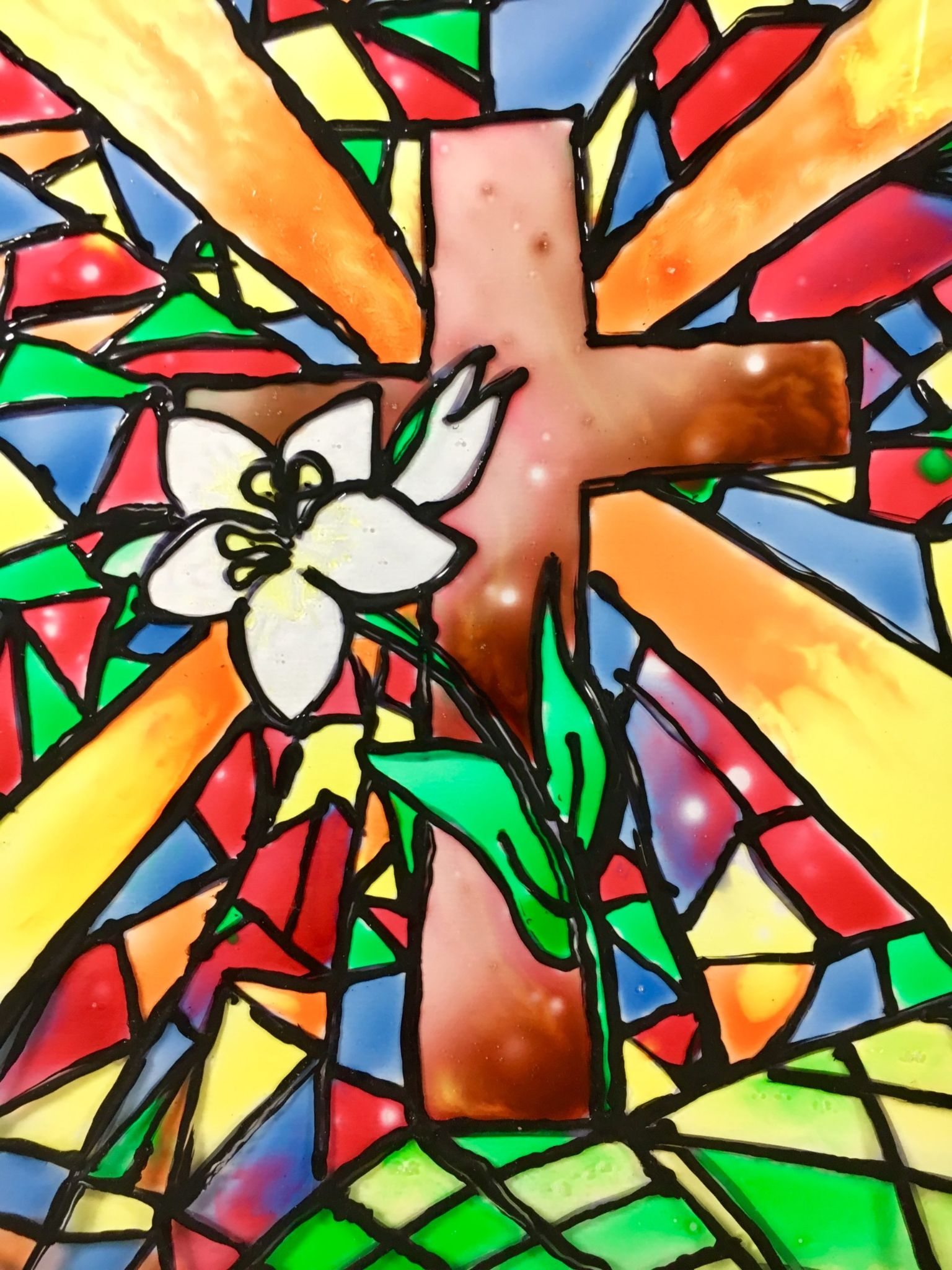 5 Steps to a Beautiful Faux Stained Glass Masterpiece
