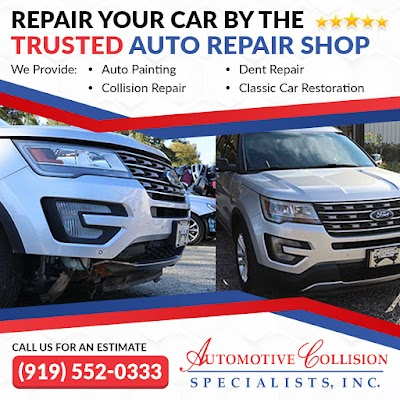 auto body repair shop in Fuqua Varina NC