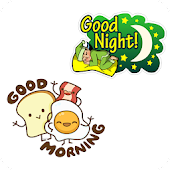 👋 WAStickerApps Good morning and Good Night