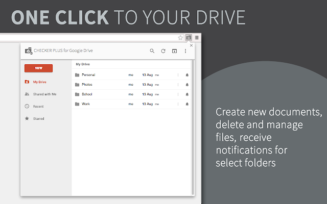 Checker Plus for Google Drive™