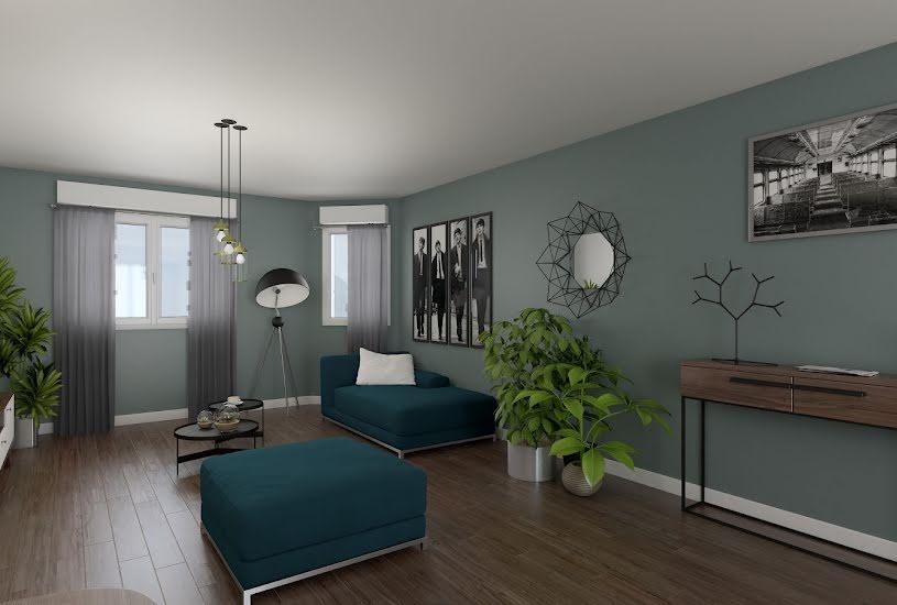 Vente Terrain + Maison - Terrain : 553m² - Maison : 100m² à Val-de-Reuil (27100)