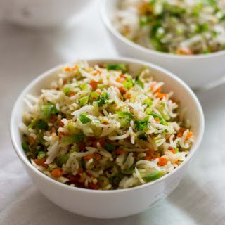 Vegetable Fried Rice, Easy Fried Rice.