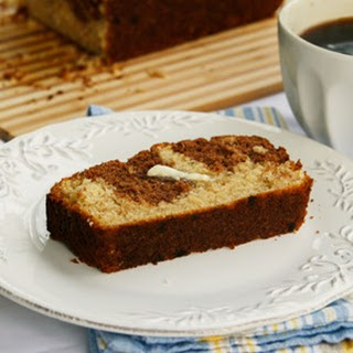 Chocolate Banana Marble Bread Recipe