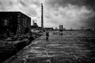 Photo: Dirty Old Town  Almost ended up in to the sea today.