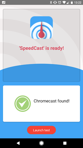 ⚡ SpeedCast - Internet speed test for Chromecast ⚡ 1.0.14 screenshots 1