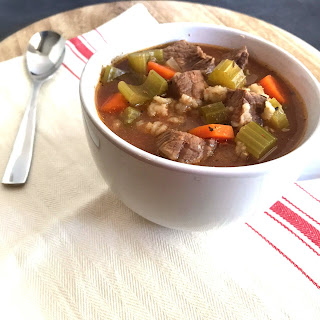 Slow Cooker Beef and Barley Soup Recipe