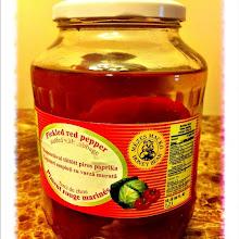 Photo: Pickled red pepper from Hungary #intercer - via Instagram, http://instagr.am/p/KDqSH0pfh5/