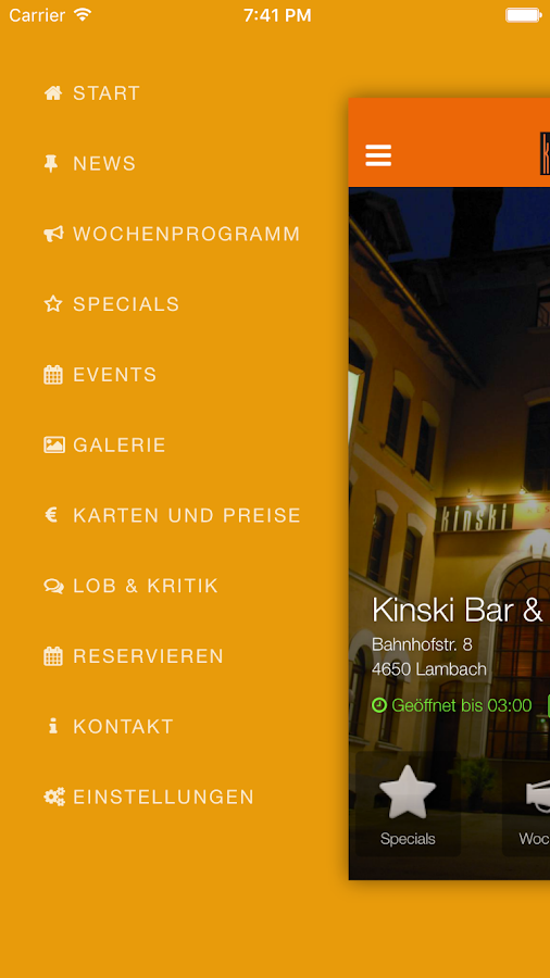 Kinski Bar & Restaurant- screenshot