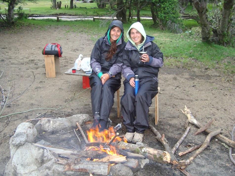 Camping junto al lago traful