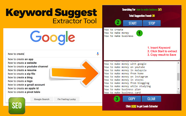 Keyword Suggest Extractor