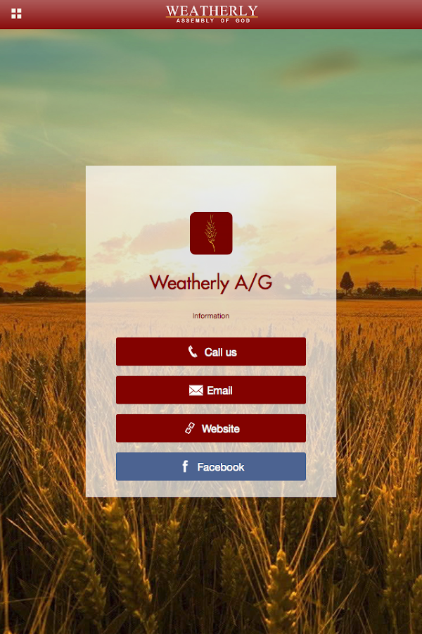 WeatherlyAG- screenshot
