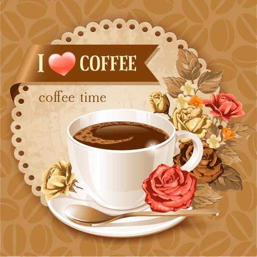 休闲の私はコーヒーを愛します LOGO-記事Game