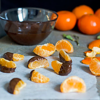 Clementines Dipped In Chocolate