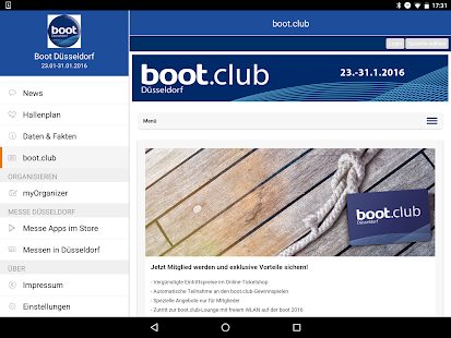 boot Düsseldorf App- screenshot thumbnail