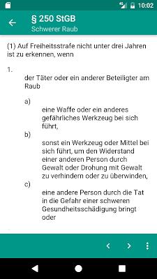 LawDroid – Deutsche Gesetze - screenshot