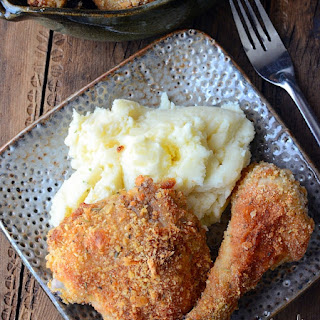 Parmesan Oven Fried Chicken Recipe