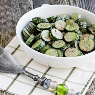 Cucumber Salad with Balsamic Dressing Recipe