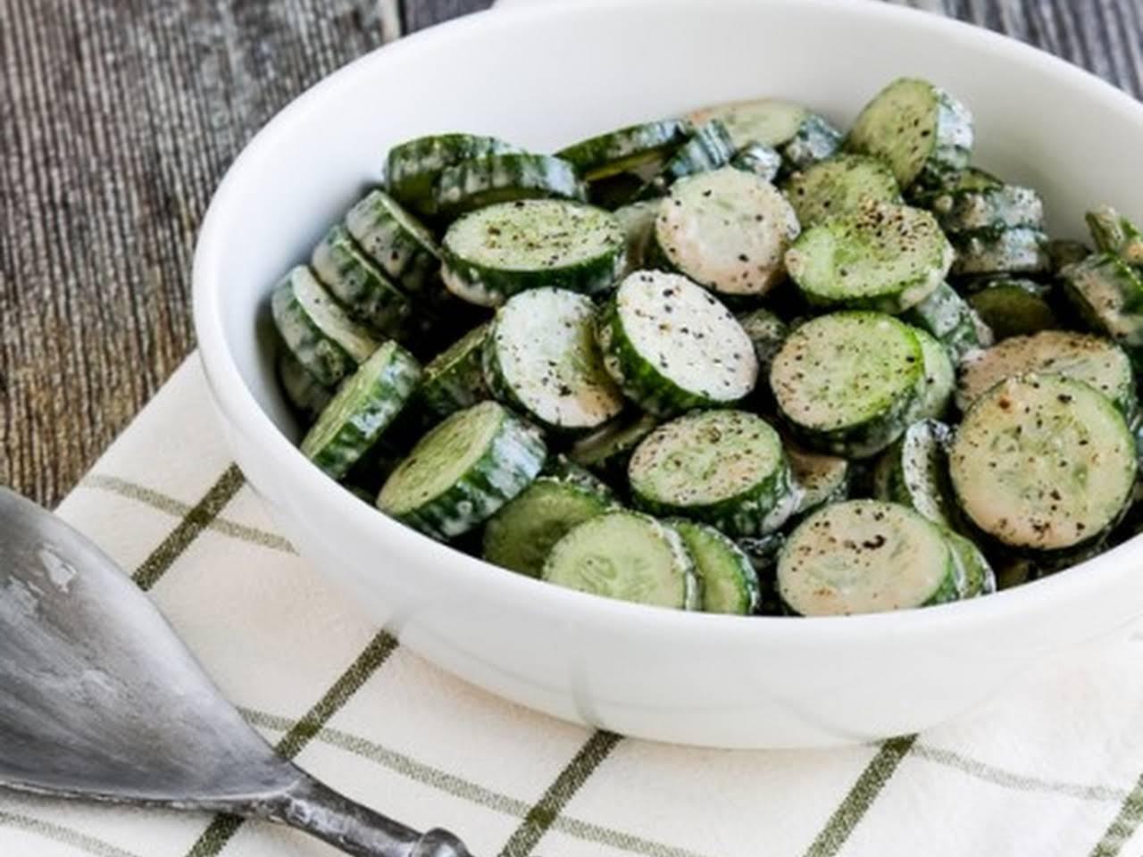 Cucumber Salad Recipe Balsamic Vinegar