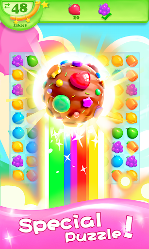 Fruit Candy Smash - Juice Splash Free Match 3 Game - screenshot