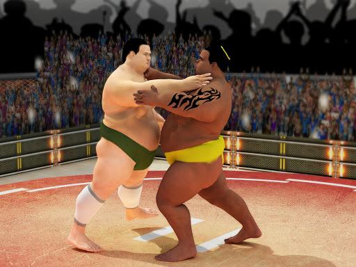 Sumo wrestling Revolution 2017: Pro Stars Fighting  screenshots 12