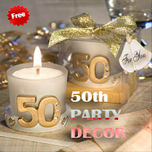 50th Party Decorations