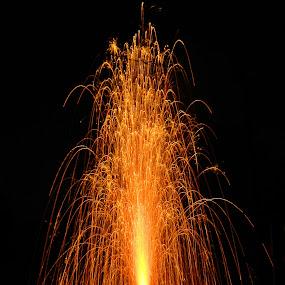 Diwali Celebration by Ajay Halder - News & Events World Events ( fireworks, fire, new year, dipawali, diwali, 2014 )