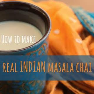 Real Indian Masala Chai Tea.
