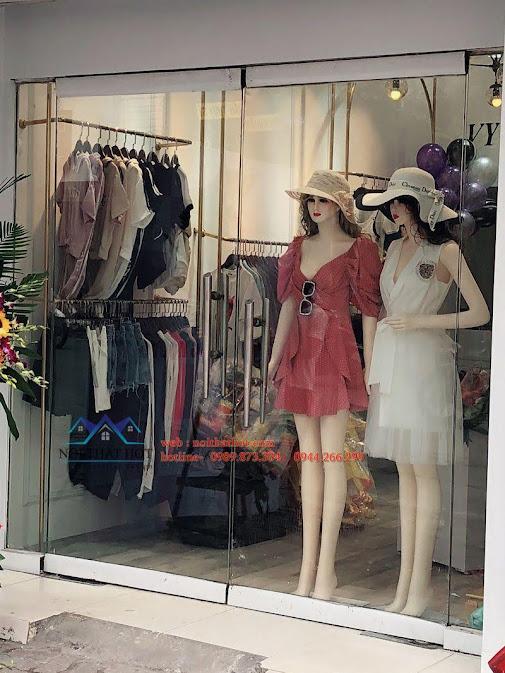 thiết kế shop thời trang nữ bạch mai 7