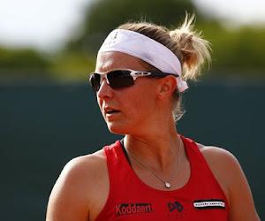Vertrouwd beeld alsnog gered: Kirsten Flipkens dan toch op de hoofdtabel US Open