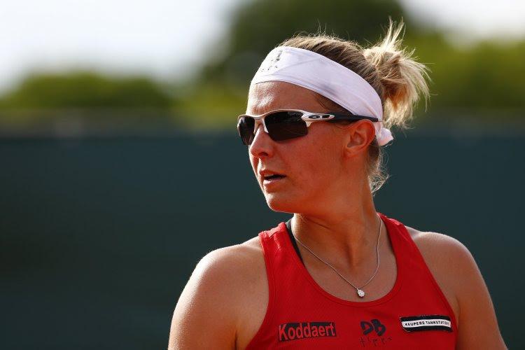 Kirsten Flipkens is verrassend positief ondanks uitschakeling in tweede ronde Roland Garros