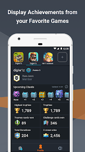 ClanPlay: Gamers Community, Tools for Clash Royale - náhled