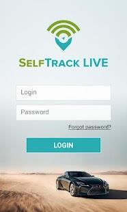 SelfTrak Live - náhled