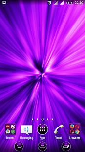Big Bang Purple XP Theme - náhled