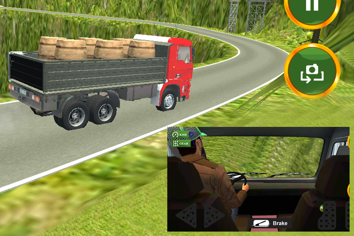 3d truck driving simulator android apps on google play. Black Bedroom Furniture Sets. Home Design Ideas