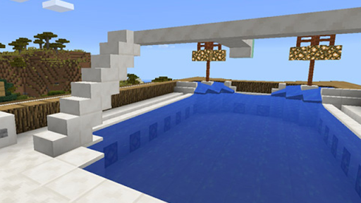 Redstone mansion map for MCPE|玩娛樂App免費|玩APPs