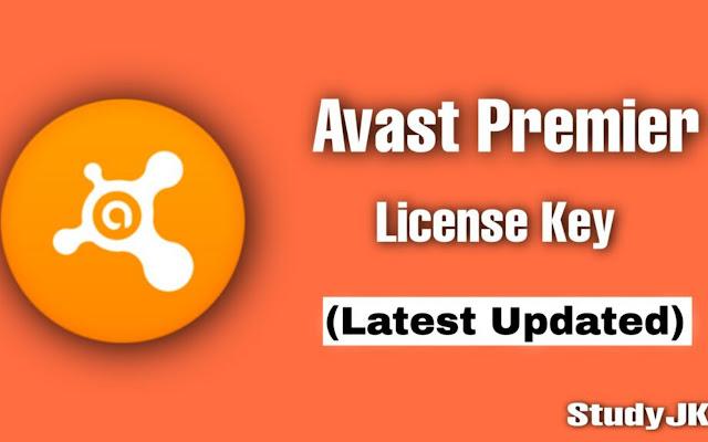 Avast Premier License Key 2021 Update