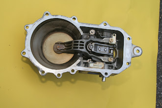 Photo: 1990 Benz 300E2.6 air flow sensor (bottom)