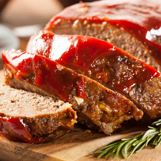 Home-Cooked Turkey Meatloaf.