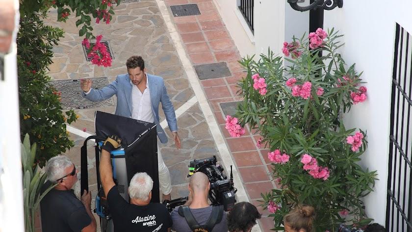 David Bisbal comienza a rodar en Marbella su nuevo videoclip