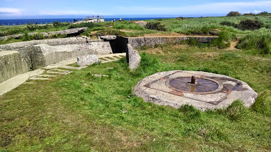 Photo: Gun emplacement site