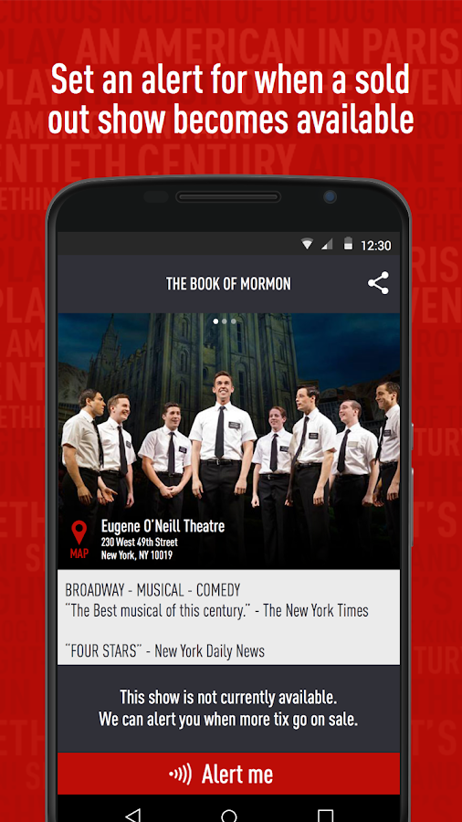 TodayTix – NYC Theater Tickets- screenshot
