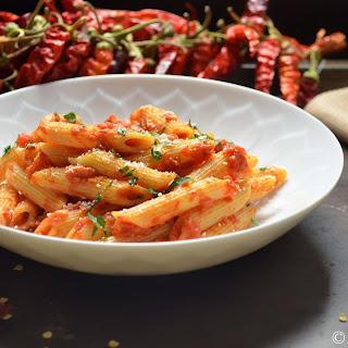 Spicy Penne all'Arrabbiata #SundaySupper.