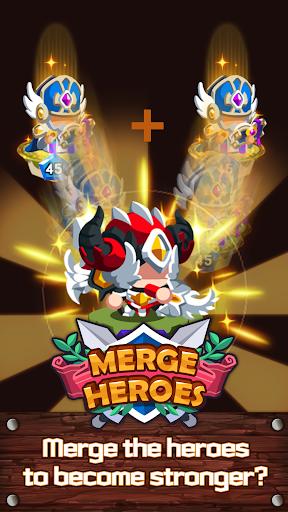 Merge Heroes Frontier: Casual RPG Online screenshots apkshin 16