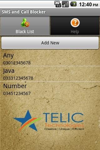 SMS and Call Blocker screenshot 5