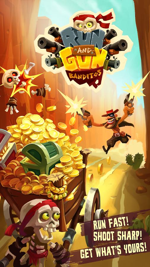 Run & Gun: BANDITOS– captură de ecran
