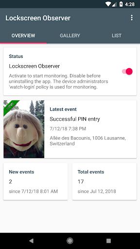 Lockscreen Observer for PC