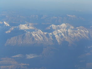Photo: winter is still in the central alpes.....